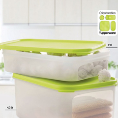 MODULAR RECTANGULAR TUPPERWARE