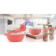 BLOSSOM BOWL ROSA 660 ml TUPPERWARE - comprar online