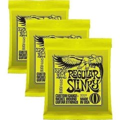 Cuerdas Guitarra Encordado Ernie Ball Slinky Regular .10-.46 en internet