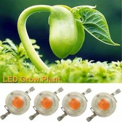 Led Grow Indoor Full Espec 380-840nm 3w C/ Predisipador X100 - comprar online