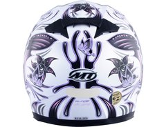 CAPACETE MT BLADE BUTTERFLY WHITE/PINK - comprar online
