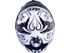 CAPACETE MT BLADE BUTTERFLY WHITE/PINK - loja online