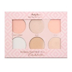 Paleta Highlighter Palette - Ruby Rose (HB 7501)