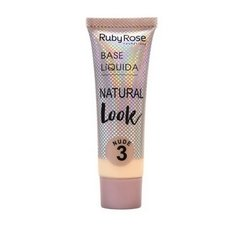 Base Líquida Natural Look Nude 3 - Ruby Rose (HB 8051/1 Cor 03)