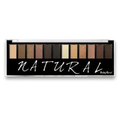 Paleta de Sombras Natural - Ruby Rose (HB 9908)