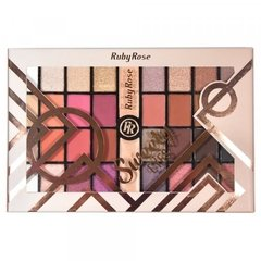 Paleta de Sombras Sweety Eyes - Ruby Rose (HB 9972) - Geth Distribuidora