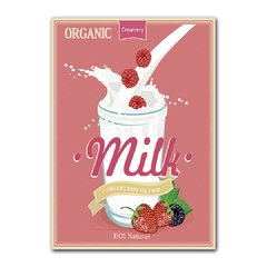 Quadro Decorativo Milk