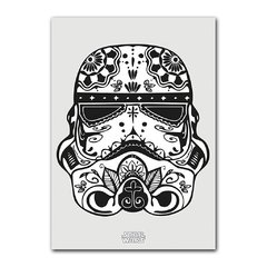 Quadro Decorativo Stormtrooper Mexicano