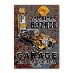 Quadro Decorativo Hot Rod Garage