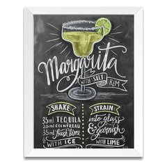 Quadro Decorativo Margarita Drink na internet