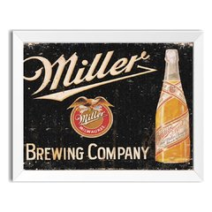 Quadro Decorativo Miller Brewing Company na internet