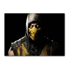 Quadro Decorativo Scorpion Mortal Kombat