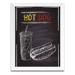 Quadro Decorativo Hot Dog - comprar online