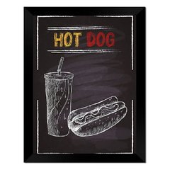 Quadro Decorativo Hot Dog na internet