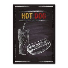 Quadro Decorativo Hot Dog