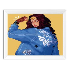 Quadro Decorativo Wonder Woman - comprar online