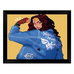 Quadro Decorativo Wonder Woman na internet