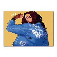 Quadro Decorativo Wonder Woman