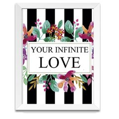 Quadro Decorativo Your Infinite Love - comprar online