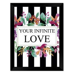 Quadro Decorativo Your Infinite Love na internet