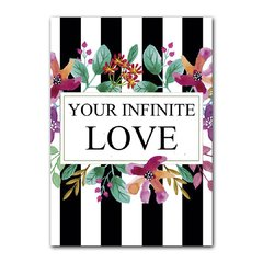 Quadro Decorativo Your Infinite Love