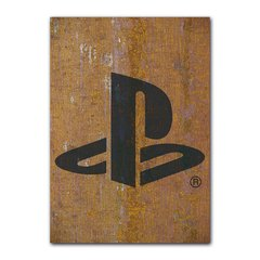 Quadro Decorativo Playstation Metal