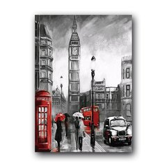 Quadro Decorativo Londres Pintura