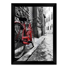 Quadro Decorativo Londres Bicicleta na internet