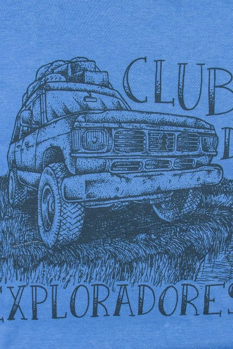 "REMERA ""CLUB DE EXPLORADORES"""