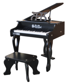 Piano Digital para Niños 30 Teclas Schoenhut 30 Key Digital Baby Grand Piano Black