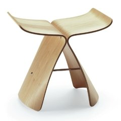 Banquito Butterfly Madera Eames Plywood