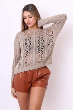 Sweater Tropical calado