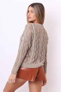 Sweater Tropical calado - comprar online