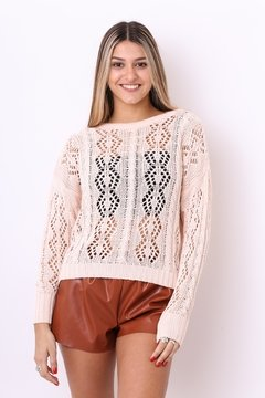 Sweater Tropical calado - Bendita sweaters