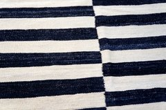 Kilim Black and White 0013 - comprar online