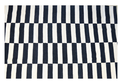 Kilim Black and White 0013
