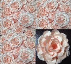 pink-fabric-flowers-for-wedding