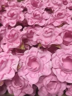 Fabric Flower Wrappers for Wedding Sweets Ísis (30 pieces) - Celebrity Forminhas de Doces Para Casamento