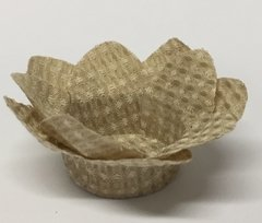 Fabric Wrappers for Sweets Little Daisy in Beige dotted fabric (50 pieces) - buy online