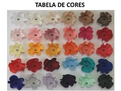 Image of Fabric Flower Wrappers for Wedding Sweets Vanessa (100 pieces)