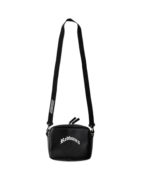 WHITE GOTIC LOGO MINIBAG