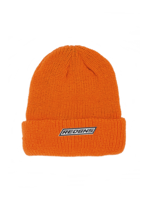 BOX LOGO ORANGE BEANIE