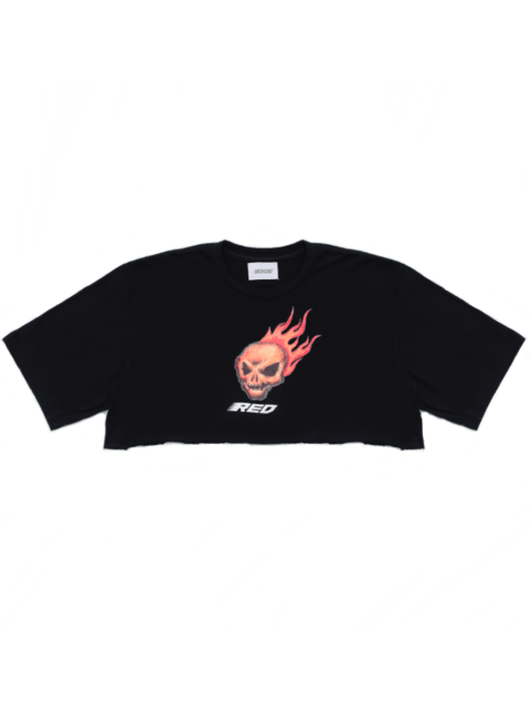 BURNING HEAD CROPPED TEE