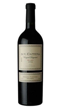 DV Catena Malbec Nicasia Vineyard