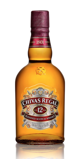 Chivas Regal 12 años Whisky 750 ml