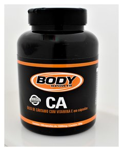 CA - ÓLEO DE CARTAMO COM VITAMINA E - 180 CÁPSULAS BODY SPORTS
