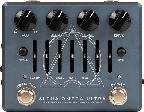 Pedal Darkglass Alpha Omega Ultra Aux In Preamplificador