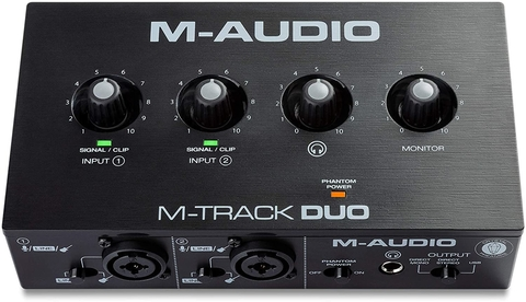 PLACA DE AUDIO M-AUDIO M-TRACK DUO