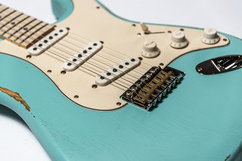 Guitarra Slick Guitars SL57M Db Stratocaster en internet