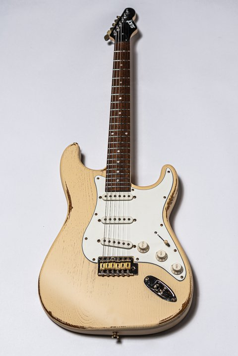 Guitarra Slick Guitars SL57 Vintage Cream Stratocaster